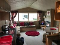 Deluxe caravan for hire **PRIMROSE VALLEY**