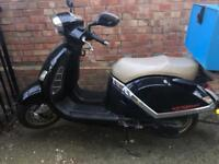 Direct bike not Vespa 300 typhoon Gilera honda
