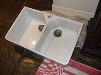 Ceramic Double Sink by Franke. Bargain at £100!
