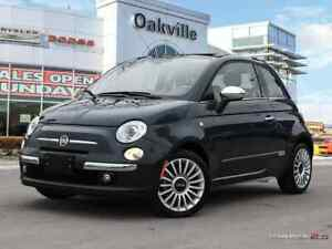 2017 FIAT 500c LOUNGE | FORMER COMPANY CAR | HEATED LEATHER |