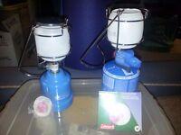 Portable gas lamps