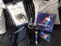 Blue Spark Digital Microphone and Blue Adjustable Pop Filter