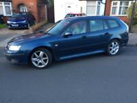 SAAB 9-3 1.9 Diesel Vector Sport,2006, ESTATE, DIESEL, CHEAP CAR FOR SALE, GOOD RUNAROUND,