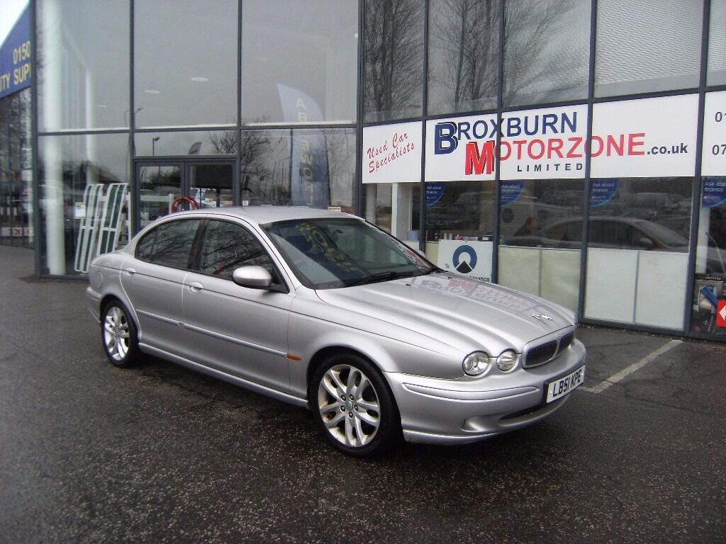 2002 51 JAGUAR X-TYPE 2.5 V6 SPORT 4d 195 BHP MOT OCT 2016 **** GUARANTEED FINANCE ****