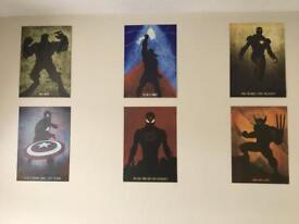 Marvel Metal Wall Posters (Displates)