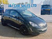 VAUXHALL CORSA 1.2 LIMITED EDITION 3d 83 BHP A GREAT EXAMPLE INSI (black) 2014