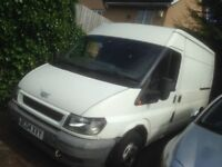 Ford transit 2004 spares repairs drives fine needs welding for mot cheap van