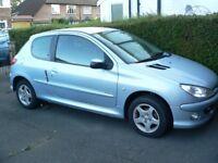 Peugeot 206 1.4 Verve, Petrol, Manual, 06 Reg., 32,000 miles, 3 Door, VGC, 9 Months MOT, Silver