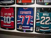 Jersey Display Case with Logo