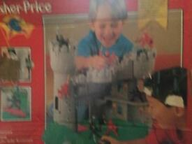 Castle and Robin Hood play set