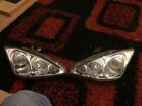 Ford Focus mk1 angel headlights