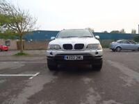 BMW X5 3.0 i Sport 5dr£1,995 p/x welcome 2002 (02 reg), SUV