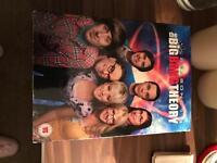 Big Bang Theory Seasons 1-8 DVD Boxset