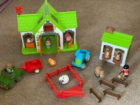 Happyland farm set