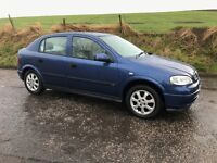 2002 52 Vauxhall Astra 1.6 AUTOMATIC 5 door - MOT 3rd December (No Advisories)