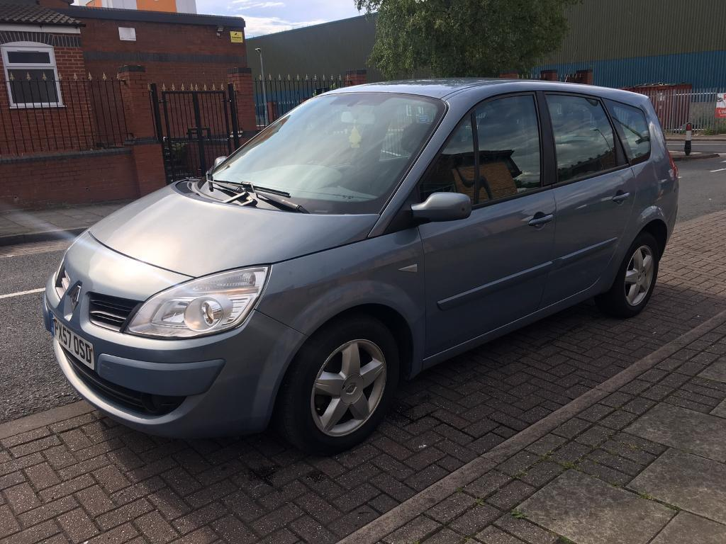 renault megane scenic 1 5 dci dynamique 2007 7 seater in birmingham city centre west midlands. Black Bedroom Furniture Sets. Home Design Ideas