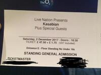 Kasabian ticket x 1 Slaves supporting 2/12/17