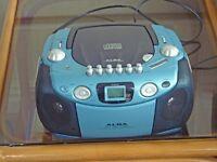 ALBA CD Cassette Radio