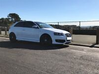 Audi S3, Ibis white (Recaro RS wingback bucket seats) great condition, FSH 85k £9300ono