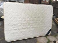 Double bed mattress only mattress cosmos memory foam double used £35