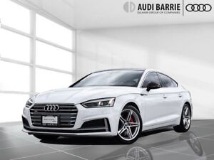 2018 Audi S5 3.0T Progressiv Quattro 8sp Tiptronic Carbon Inlay