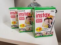 Fujifilm Instax Mini Instant Film 3 Pack x 20 film