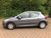Peugeot 207, Excellent condition, only 2 owners. Part service history. 2 Keys. C.D/Radio. MOT 12mths