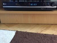 LG DVD player and surround sound speakers