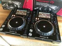 Pioneer CDJ 2000 NXS2 Pair - Boxed - Mint Condition
