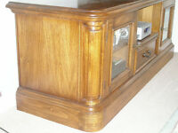 TV and Audio Cabinet in wood