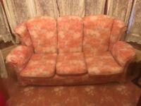 FREE 3 seater sofa & armchair