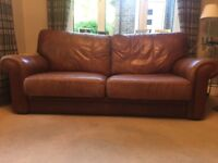 2 and 3 seater handmade distressed leather sofas