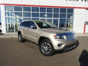 2014 Jeep Grand Cherokee LIMITED Price SLASHED! No Tricks/Just T