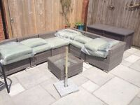 Cushions for outdoor sofa - new and unused
