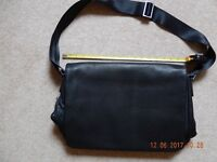 Unused Jasper Conran Leather Messenger Bag