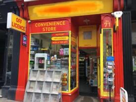 ** Off Licence / Newsagent Business for sale **
