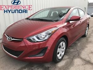 2016 Hyundai Elantra L+ AWESOME LOW KM WITH FACTORY WARRANTY AND