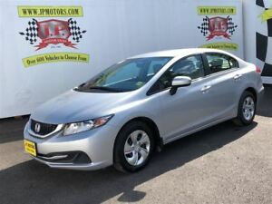 2015 Honda Civic Sedan LX, Automatic, Bluetooth, 66, 000km