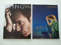 Simply Red-Stars and Sting-Mercury Falling Albums Music Books voice,paino,guitar