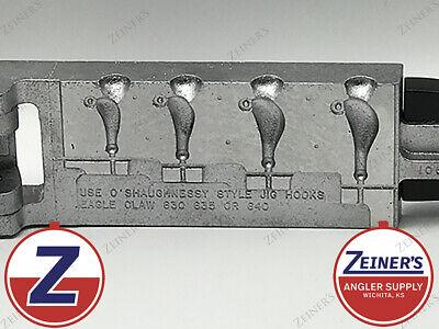 1//4 1//2 Do-it Round Head Jig Mold 5//8 oz.-D1023 3//8 Size 1//8