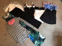 Maternity clothes bundle - 12 items - size 8