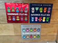 Counting rhyming book bundle 3 books