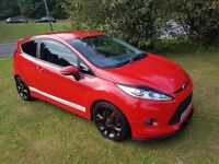 2010 (59)FORD FIESTA ZETEC S 1.6 TDCI 3DR MOT JULY 2017 SERVICE HISTORY ST ALLOYS AND BRAKES PX WELC