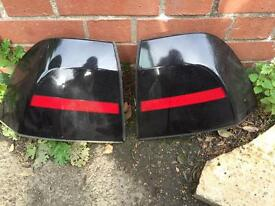 Vectra b tinted rear lights