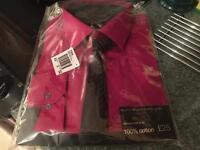 Men's Dark Pink Shirt - Large