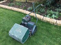 Atco Cylinder mower with grass box