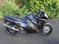 Honda CBR 1000 F Sports tourer motor bike.