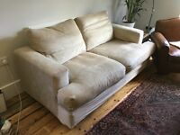 Free beige sofa for collection