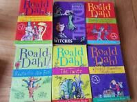 Roald Dahl x6 paperback books