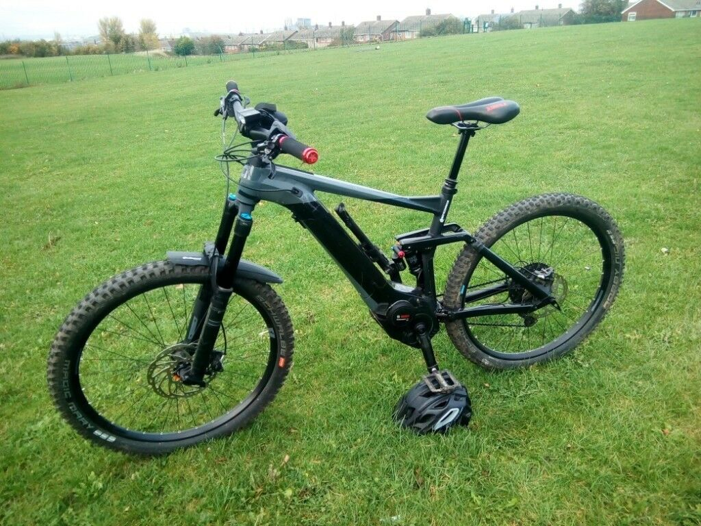 "50f70c6f96f 2018 Cube Stereo 160 SL 500 Electric Bike 20"" black/Grey 2 months old"